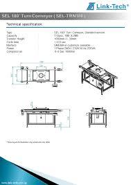 sel 180 turn conveyor sel trn180
