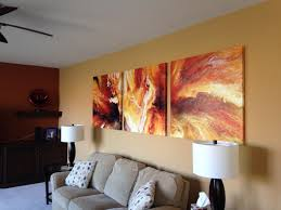 painting an abstract canvas decorate kitchencoolidea co top art