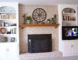 brick fireplace makeover ideas roth decor