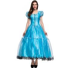 online get cheap blue alice in wonderland costume aliexpress com