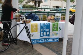 Biking Or Walking To Work by Solano Napa Commuter Information Content Bike To Work Day
