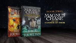 magnus chase and the hammer of thor book trailer youtube