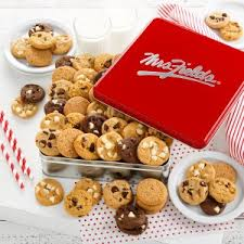 where can i buy cookie tins cookie gift baskets thank you gifts mrsfields