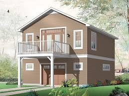 charming one car garage apartment plan house plans pinterest