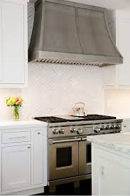 Subway Tile Backsplash Kitchen by Best 25 Kitchen Hoods Ideas On Pinterest Stove Hoods Vent Hood