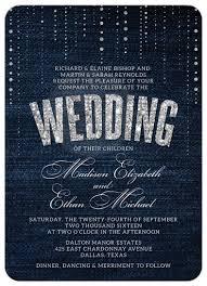 wedding invitations denim u0026 diamonds diamond weddings and