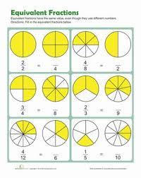 best 25 math fractions worksheets ideas on pinterest math
