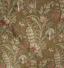 Houston Upholstery Fabric Lee Jofa Designer Kashmir Tree Asian Floral Printed Drapery