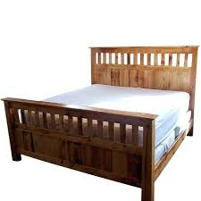 beds storage beds double wooden log bed frame tanning woodstock