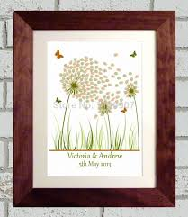 tree signing for wedding 50x70 cm dandelion wedding tree guestbook fingerprint guest book