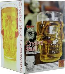 crystal skull beer mug gift ideas for guys forest city surplus