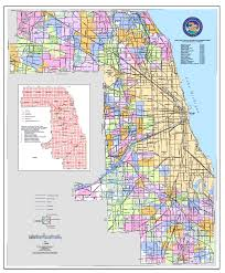 Il County Map Cook County Map With Cities Cook County Map Cook County Map
