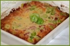 cuisiner les f钁es fraiches recette de clafoutis de fèves fraîches au parmesan et bacon la