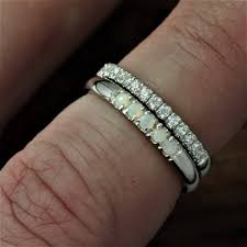 wedding band ideas wedding ideas opal ring wedding band engagement jewelry excelent