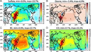 Jetstream Map Blowback China U0027s Cross Pacific Pollution Sightline Institute