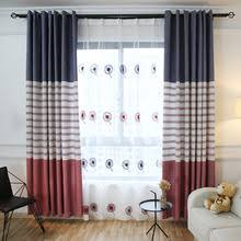 Blue And Red Striped Curtains Mediterranean Curtains Mediterranean Home Decor Ogotobuy Com