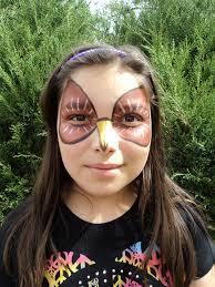 Owl Halloween Makeup by Maja Sommersted Maja U0027s Studio Journal Page 3