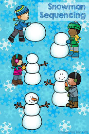 do you want to build a snowman sequencing printable simple fun