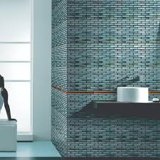 Teal Tile Backsplash by Glass Tiles Mosaic And Listelles For Backsplashes And Feature Walls