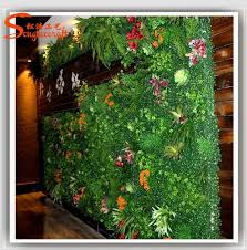 Artificial Plant Decoration Home 2015 Looking Natural Plastic Artificial Green Plant Hanging Wall
