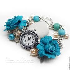 ladies bracelet wrist watches images Women 39 s wrist watch bracelet watch with pearls watch with jpg