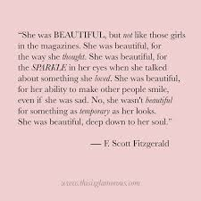 Beauty by F Scott Fitzgerald This is Glamorous
