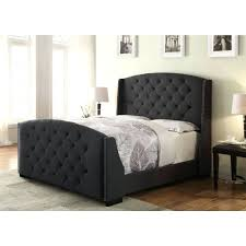 daybed frame with 2 drawer velvet tufted headboard black tufted