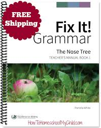 fix it grammar learning english grammar how to homeschool my child