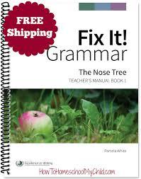 fix it grammar learning english grammar how to homeschool my child