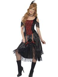 saloon womens halloween costume saloon costume ladies wild west fancy dress costume sizes 4