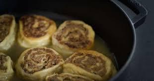 recettes cuisine alsacienne traditionnelle fleischschnacka escargots ou roulés à la viande et restes de pot au