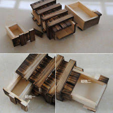 Secret Compartments In Wooden Japanese - japanese puzzle box ebay