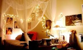 Christmas Lights Ceiling Bedroom Ideas To Get A Romantic Bedroom With Christmas Light Interior Design