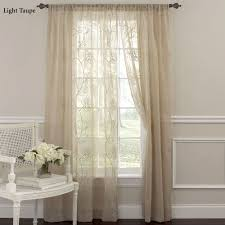 Embroidered Curtain Panels Laura Ashley Frosting Embroidered Sheer Curtain Panels