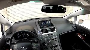 lexus hs 250h review technology features lexus hs250h limited edition hybrid blog youtube