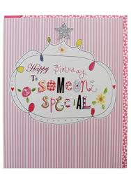 someone special birthday card karenza paperie