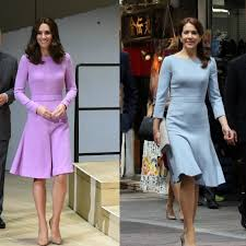 duchess kate duchess kate recycles emilia wickstead dress royals and celebrities twinning duchess kate s matching moments