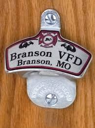 Unique Wall Mount Bottle Opener Personalized Fire Dept Wall Mount Bottle Opener