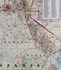 Map Of Rwanda Map Of Tanzania Rwanda U0026 Burundi National Geographic U2013 Mapscompany