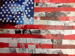 Ou Flag Puddle Wonderful Learning American Flag Collage