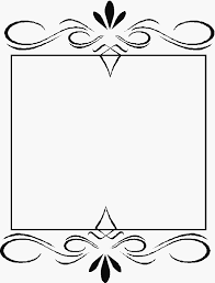 cornici in word bordures