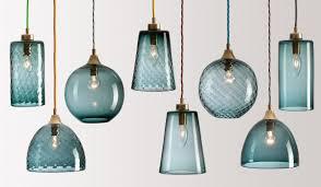 turquoise blue glass pendant lights flodeau com handblown glass lighting by rothschild bickers 02