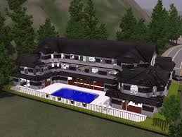 my sims 3 mansion