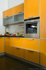 Best Orange Kitchens Images On Pinterest Kitchen Ideas - Orange kitchen cabinets