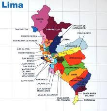 lima map lima map
