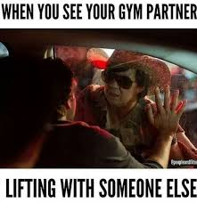 Gym Buddies Meme - 236 best gym humour images on pinterest fitness humor funny