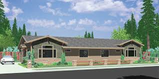 one level house plans one level duplex house plans corner lot duplex plans narrow lot
