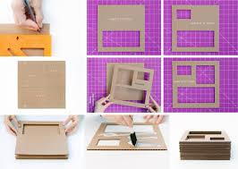 Decorate Cardboard Box Original Diy Decoration U2013 5 Simple Craft Ideas From Paper And