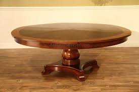 Large Round Dining Table Seats 8 Large Round Mahogany Jupe Dining Table Seats 10 12