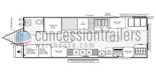 floor layouts floor plans concession trailers concession nation